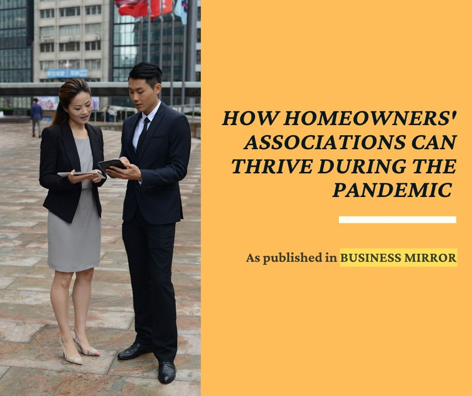 How homeowners' associations can thrive during the pandemic